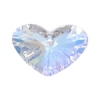 Crazy 4 U Heart 27mm Aurora Borealis Crystal
